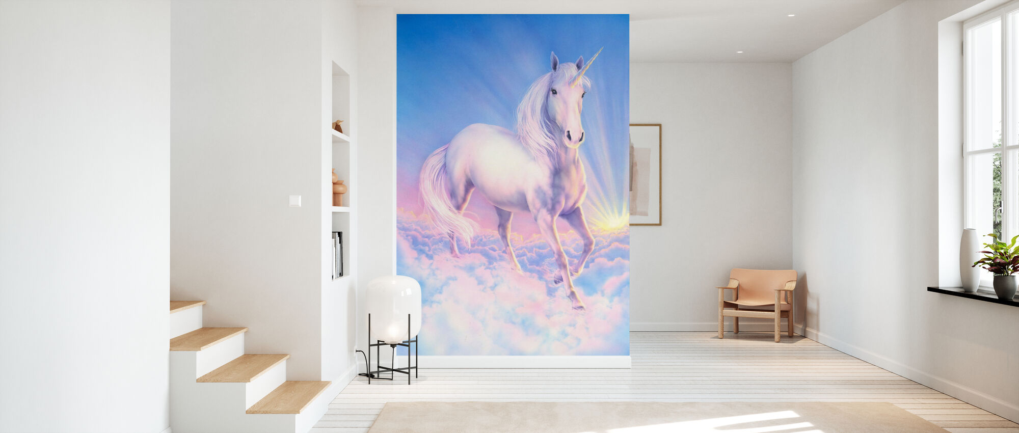 Dream Unicorn - Wallpaper - Hallway