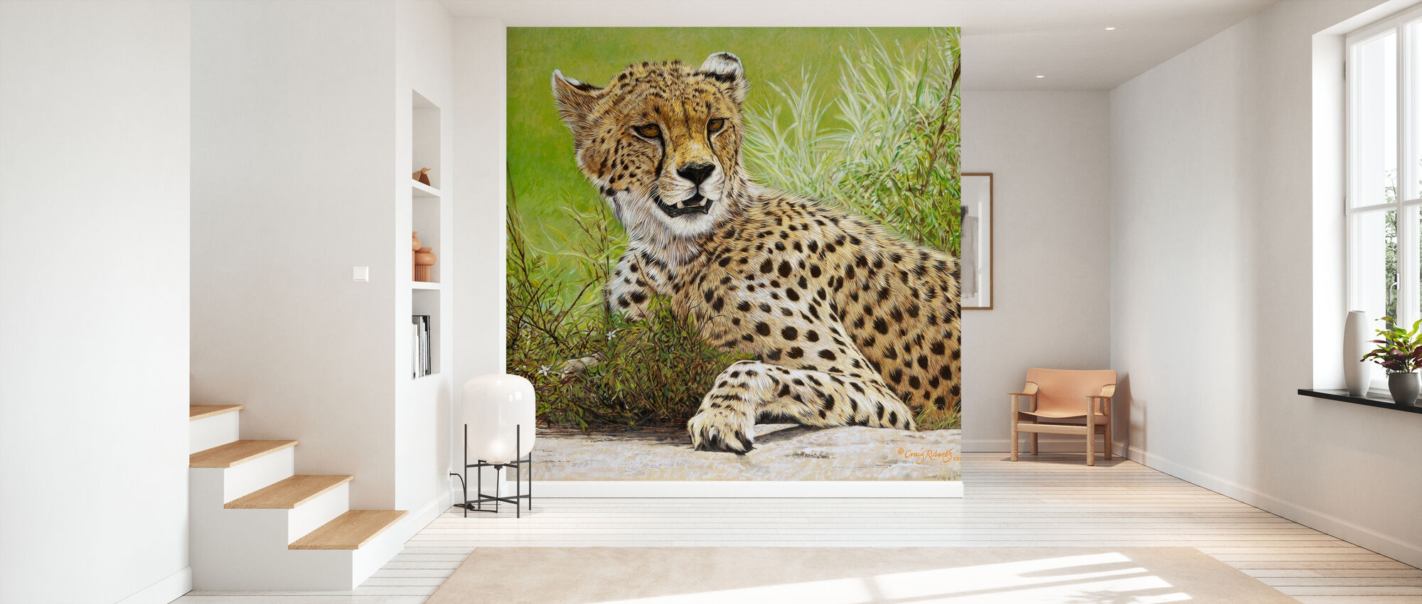 Restful Hunter - Wallpaper - Hallway