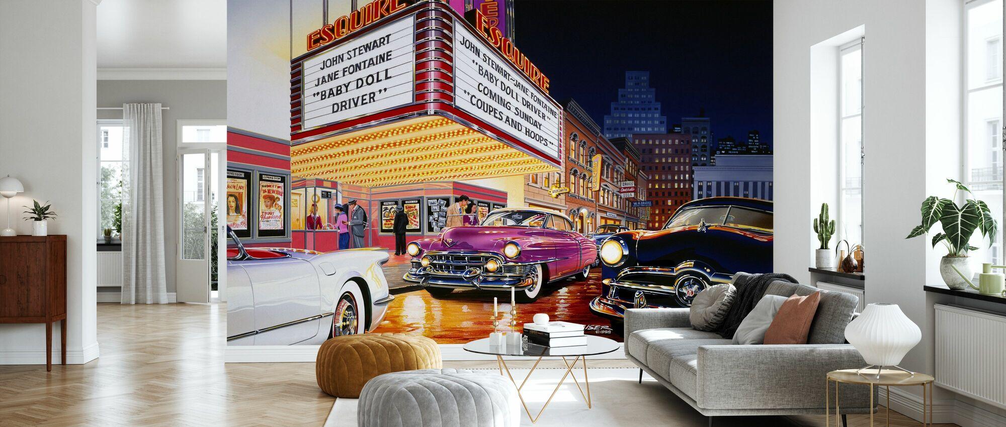 Esquire Theater - Tapete - Wohnzimmer