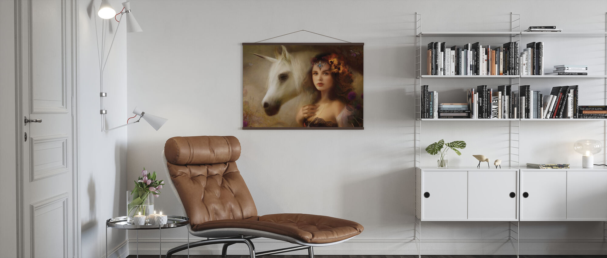 Einhorn - Poster - Wohnzimmer