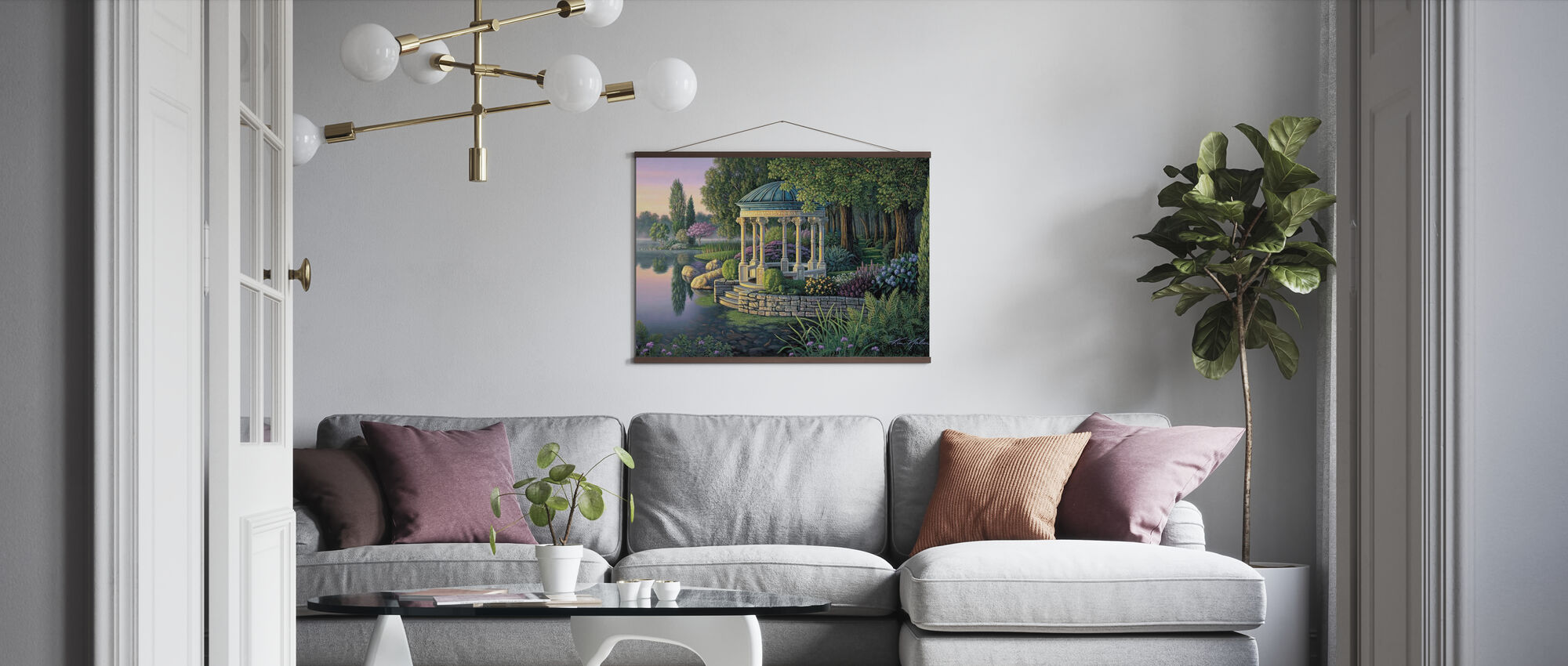 Geheime Tuin - Poster - Woonkamer