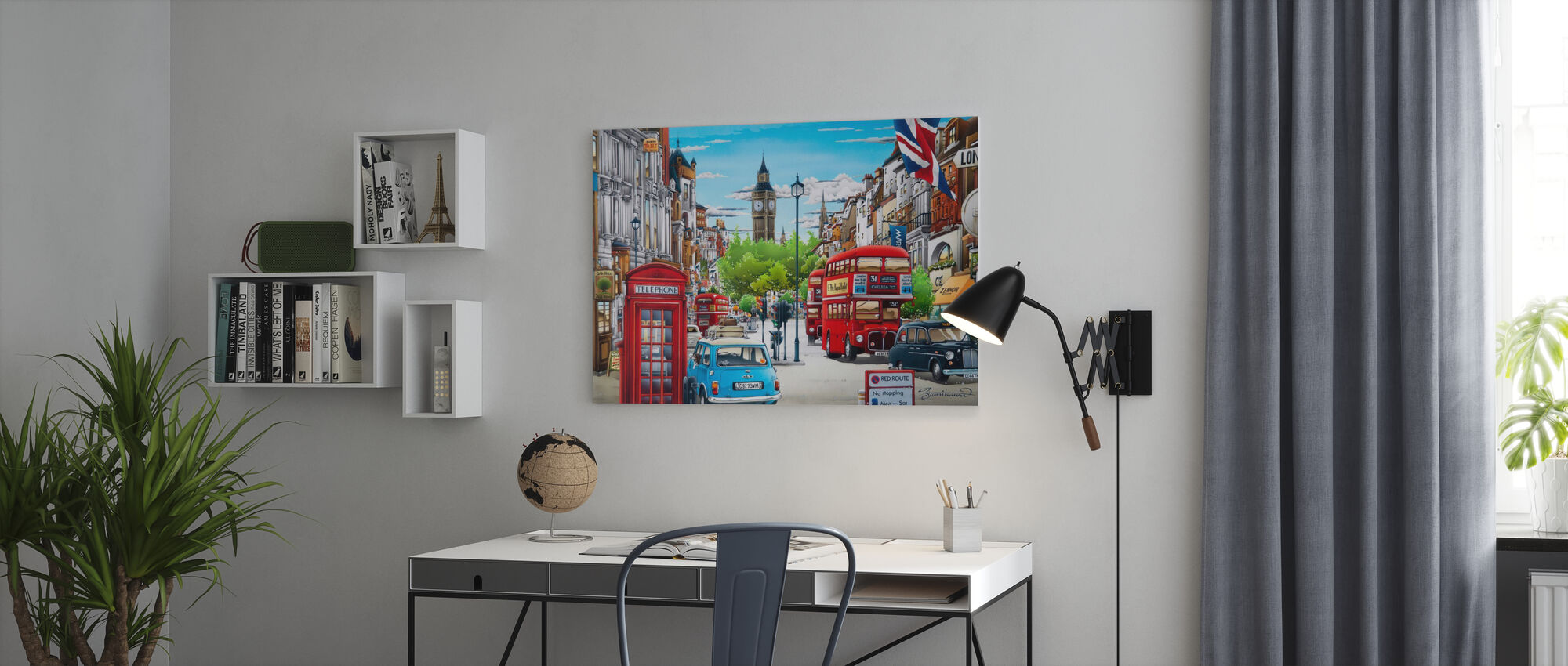 London - Leinwandbild - Büro
