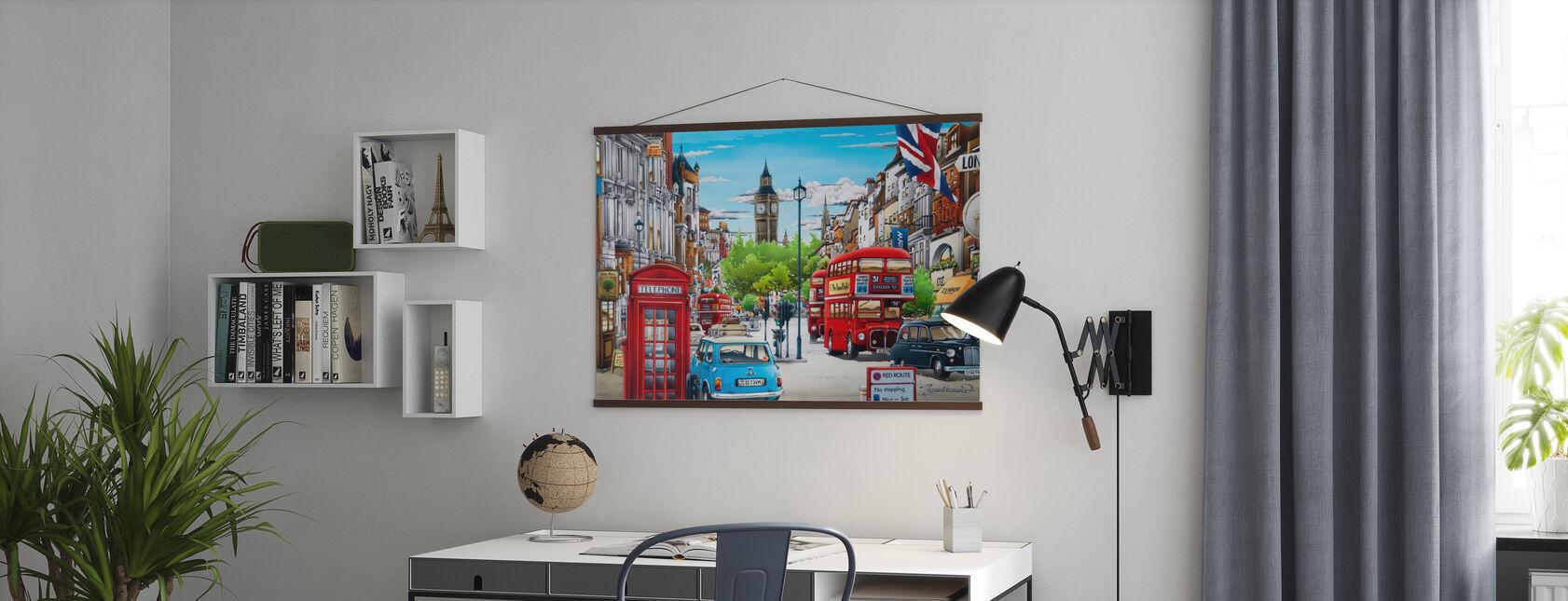 Londen - Poster - Kantoor