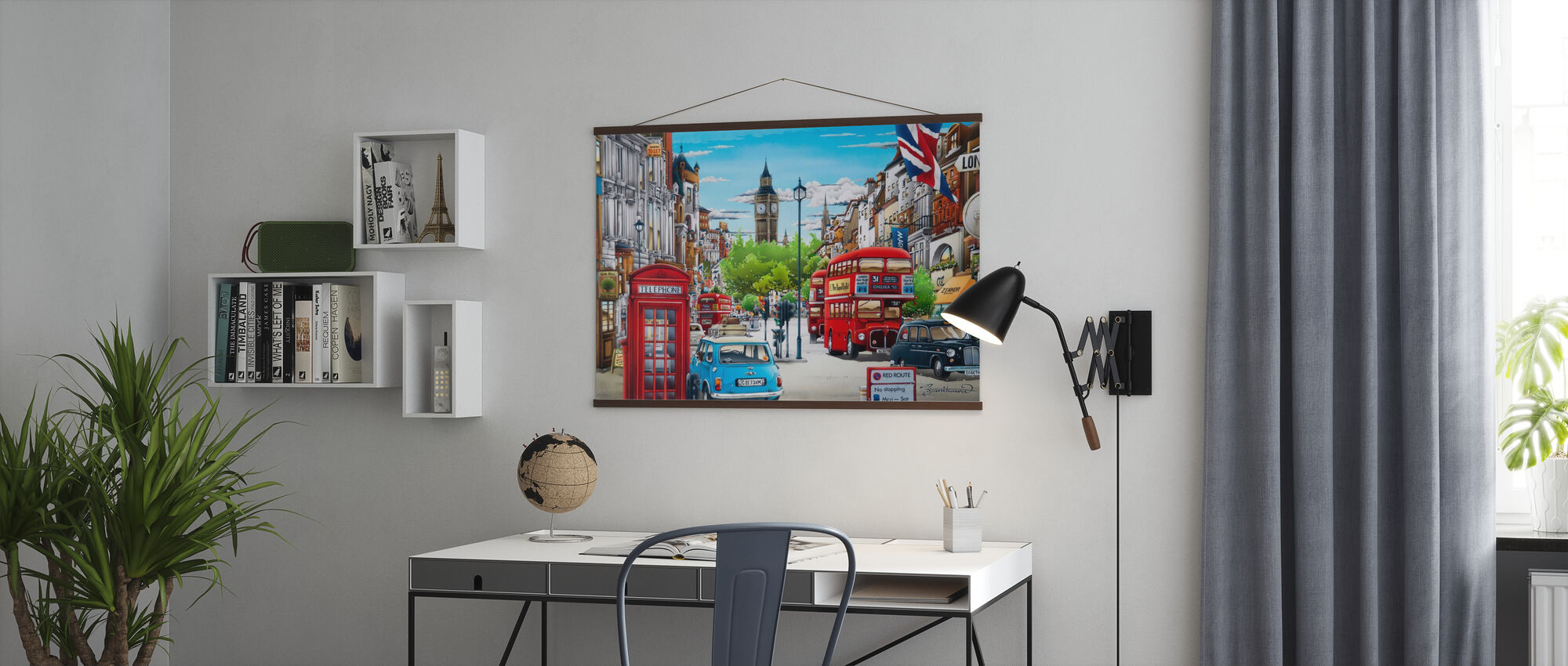 London - Poster - Office