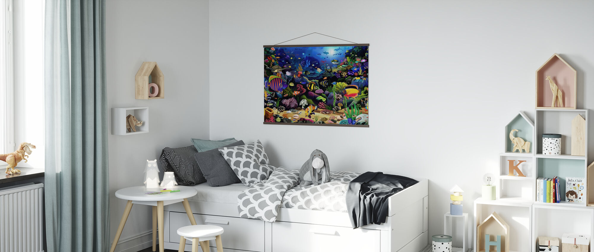 Colourful Reef - Poster - Kids Room