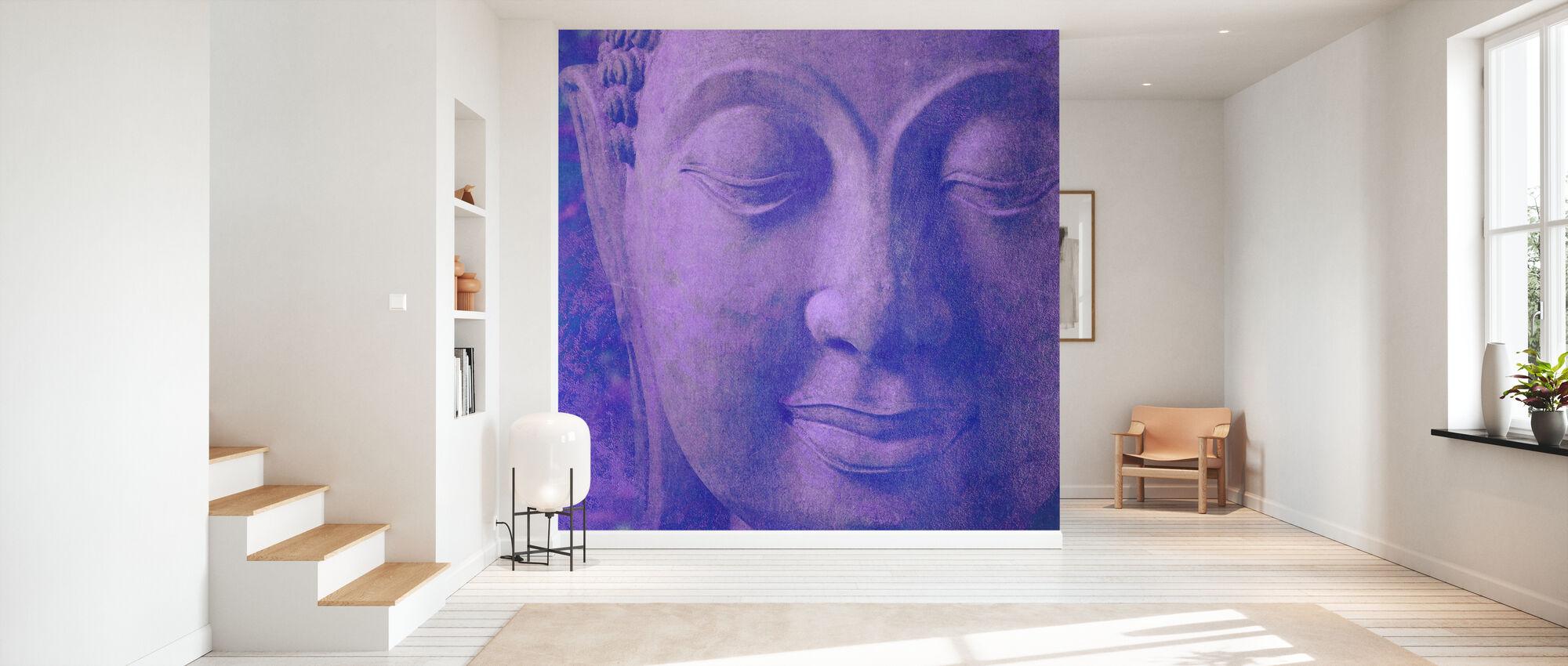 Lilla Buddha kvadreret - Tapet - Entré