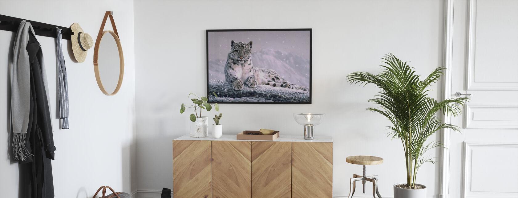 Mountain Snowfall - Poster - Hallway
