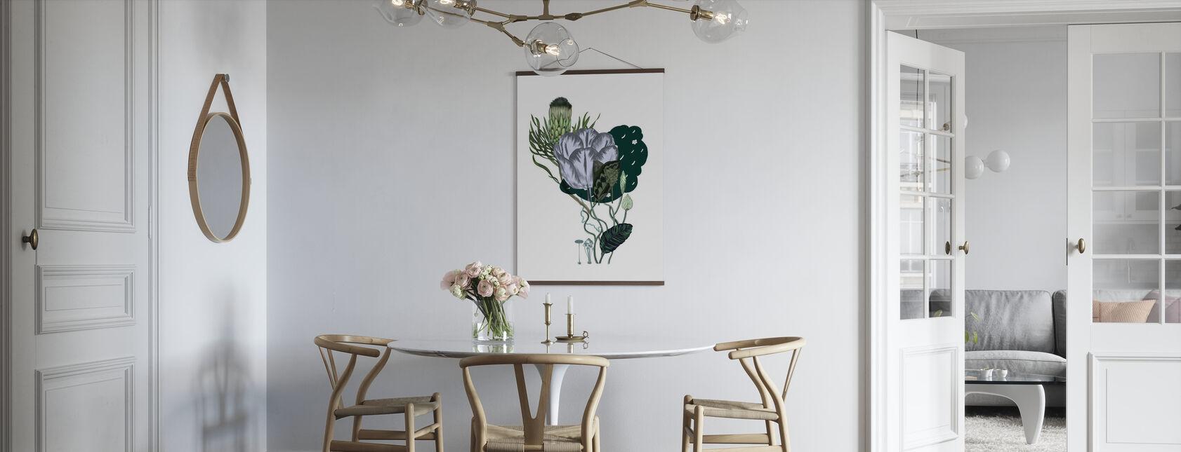 Artischockenstrauß - Poster - Küchen