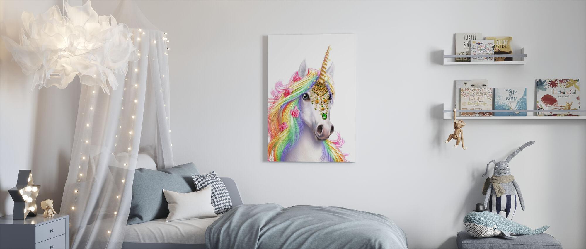 Unicorn - Canvas print - Kids Room