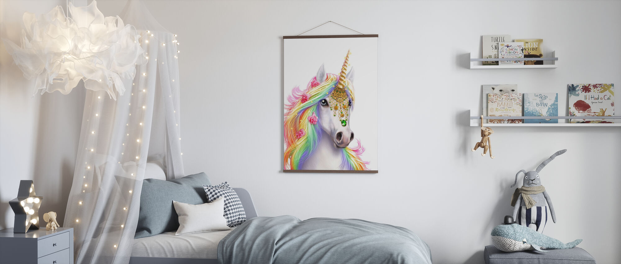 Unicorn - Poster - Kids Room