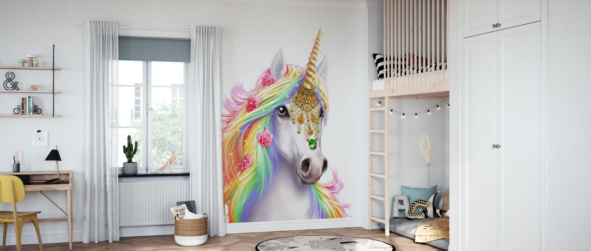 Unicorn - Wallpaper - Kids Room