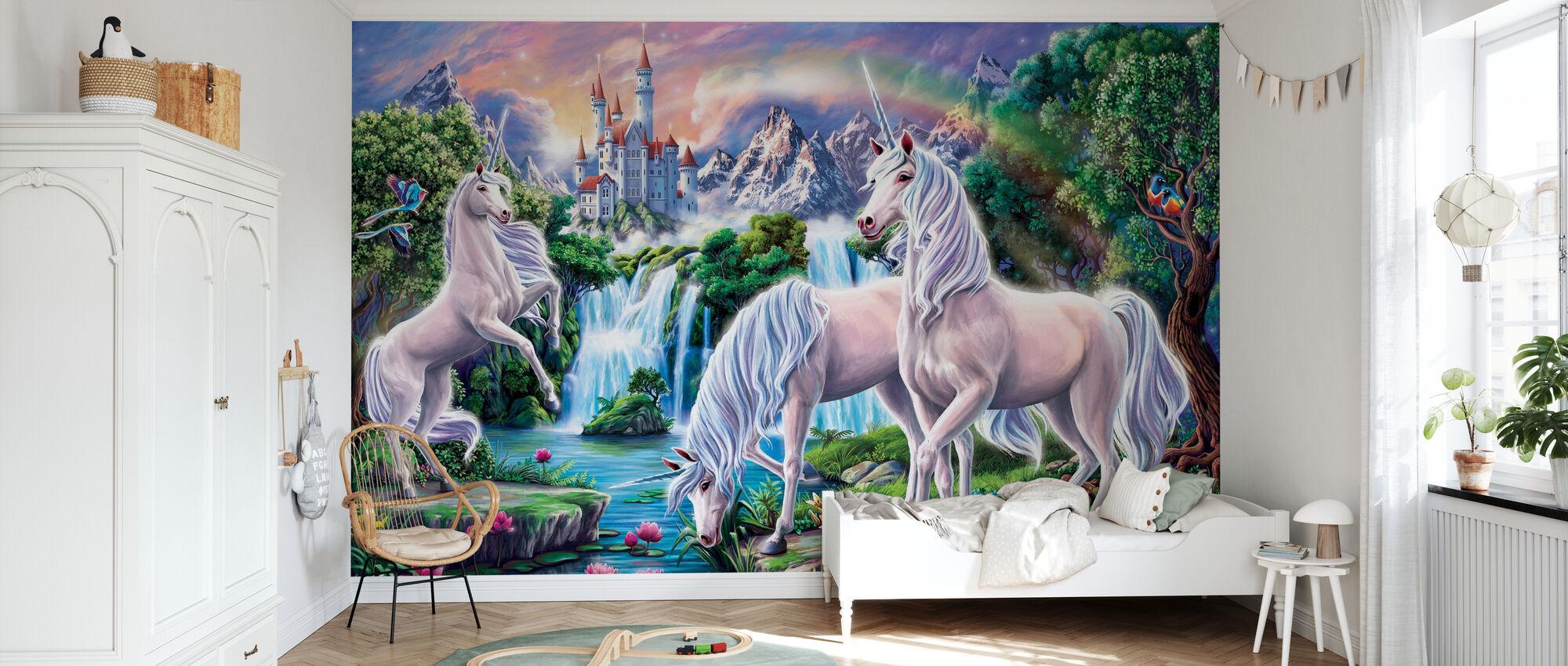 Unicorn Paradise - Wallpaper - Kids Room