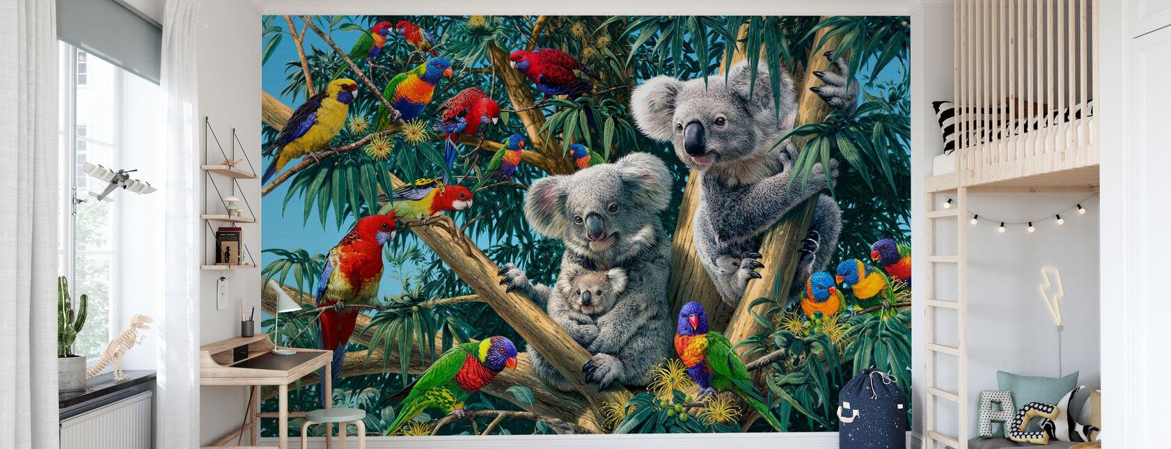 Koala Outback - Wallpaper - Kids Room