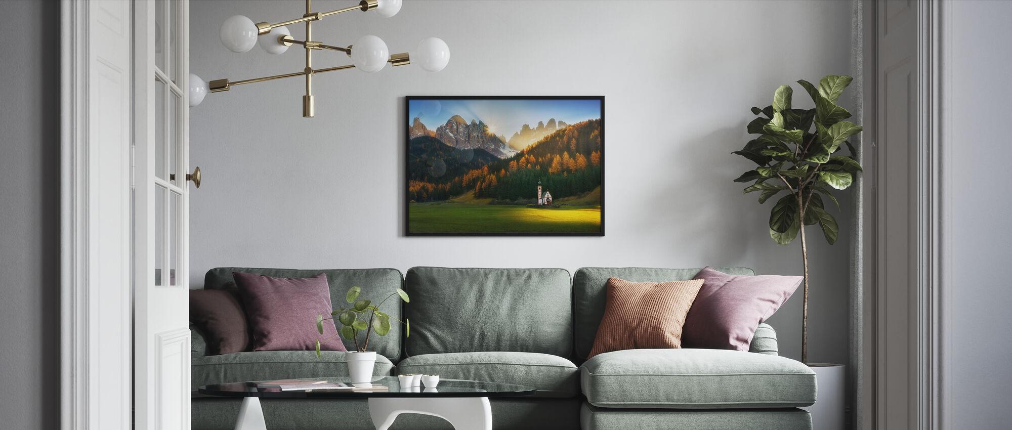 Santa Maddalena - Poster - Living Room