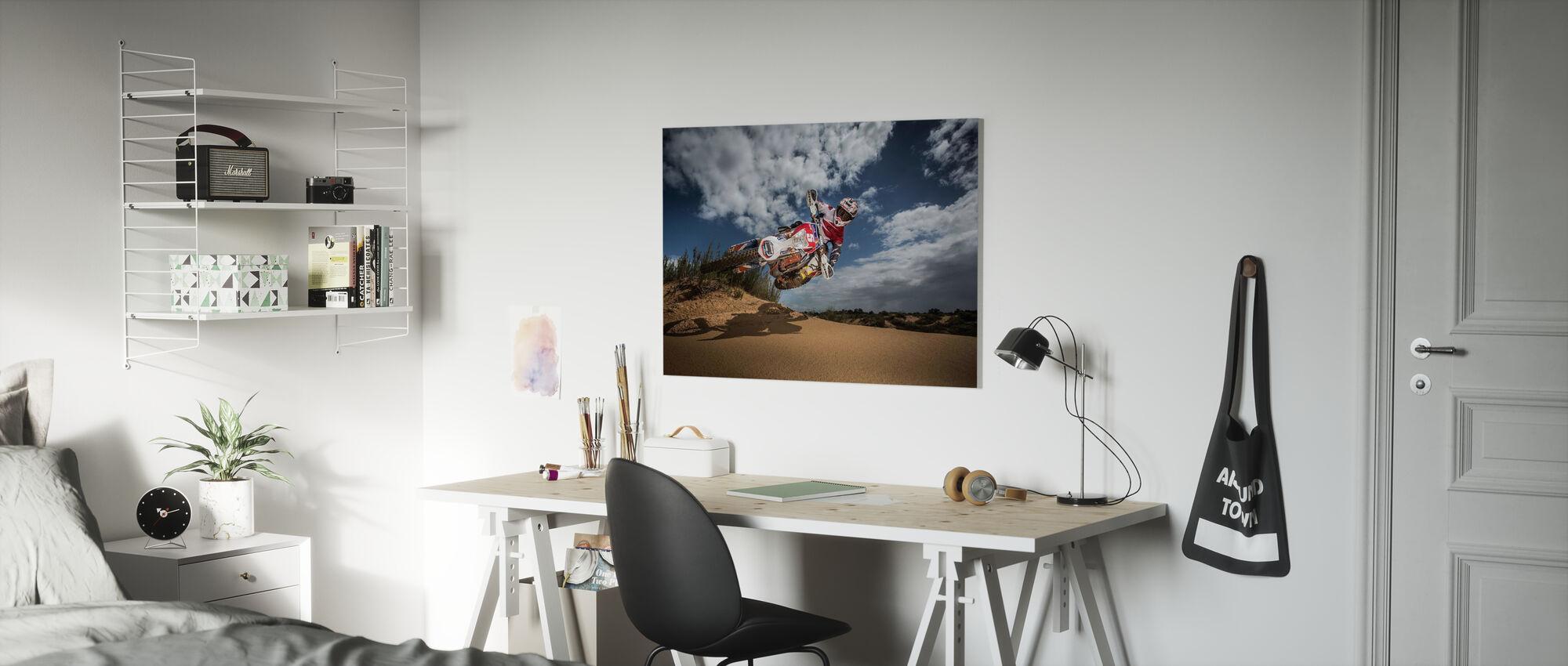 Knocked up - Canvas print - Kids Room
