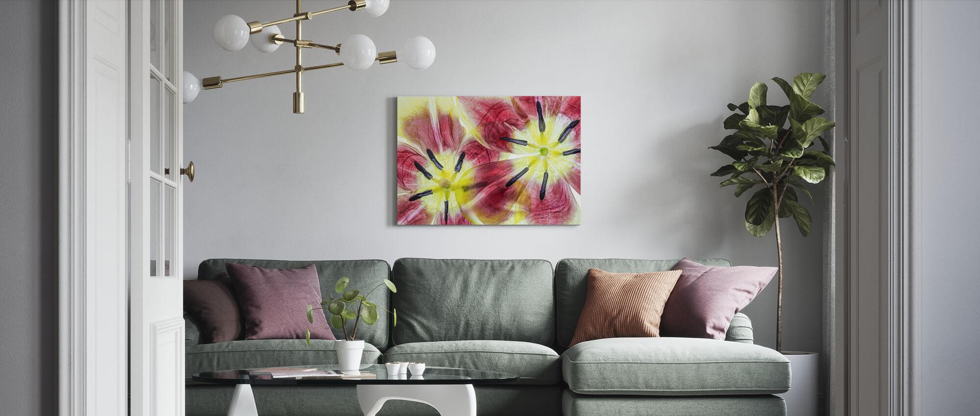 Tulips - Canvas print - Living Room