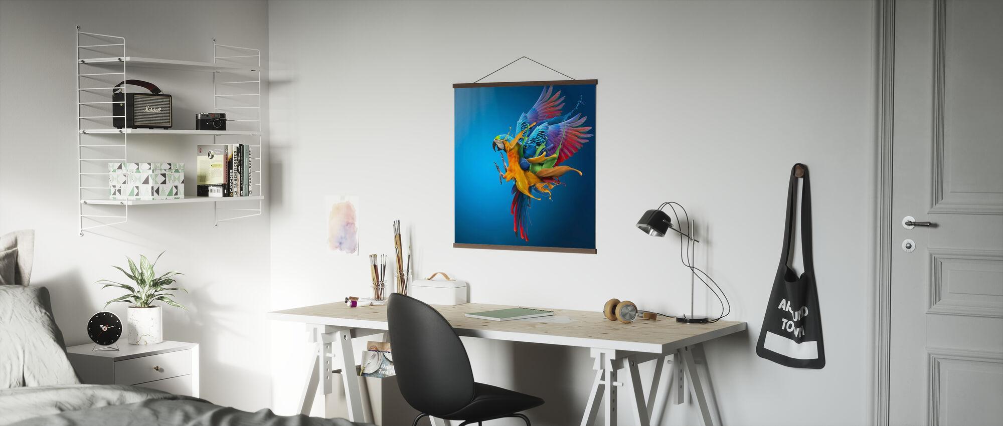 Flying Colours - Poster - Büro