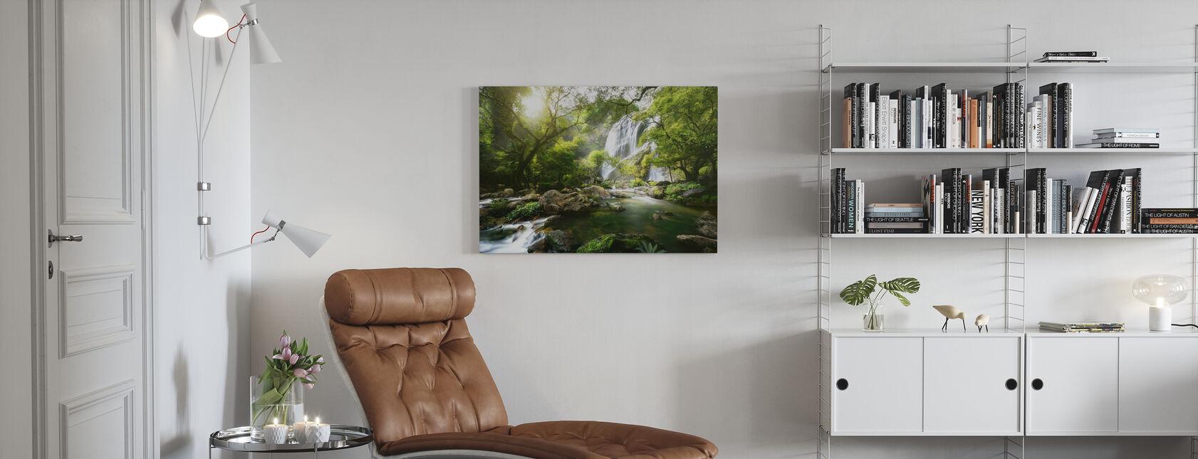 Mountain Stream - Canvas print - Living Room