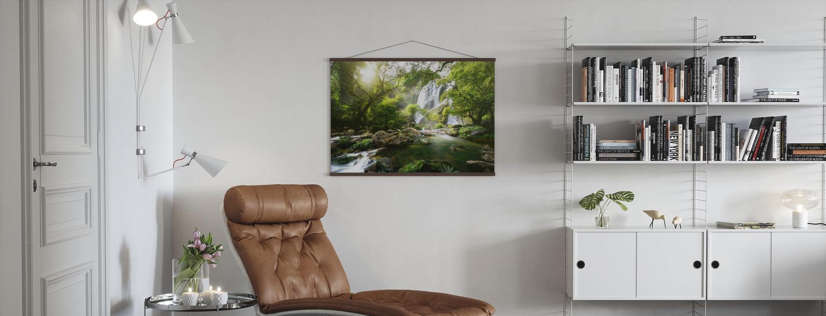 Mountain Stream - Poster - Living Room