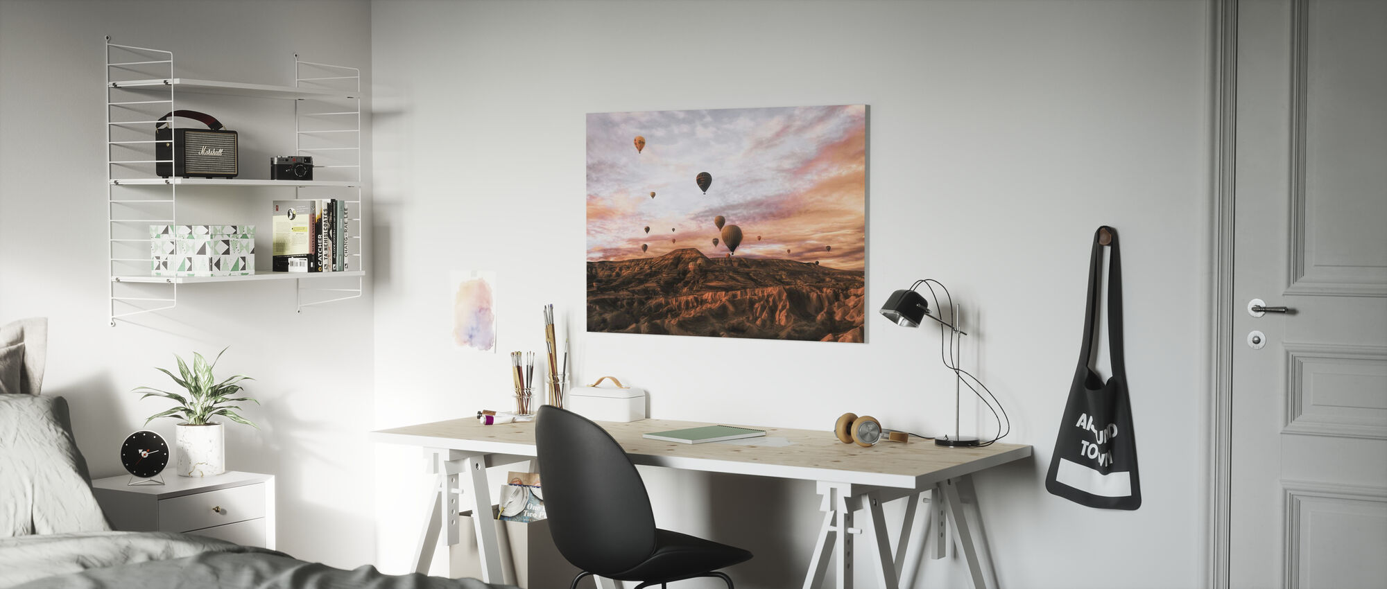 Cappodocia Hot Air Balloon - Canvas print - Kids Room