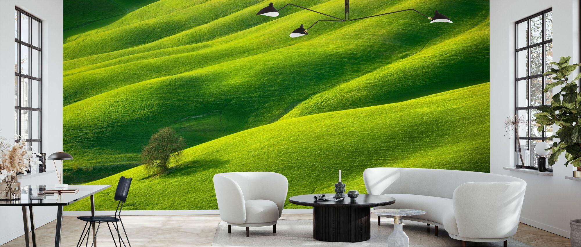 One - Wallpaper - Living Room