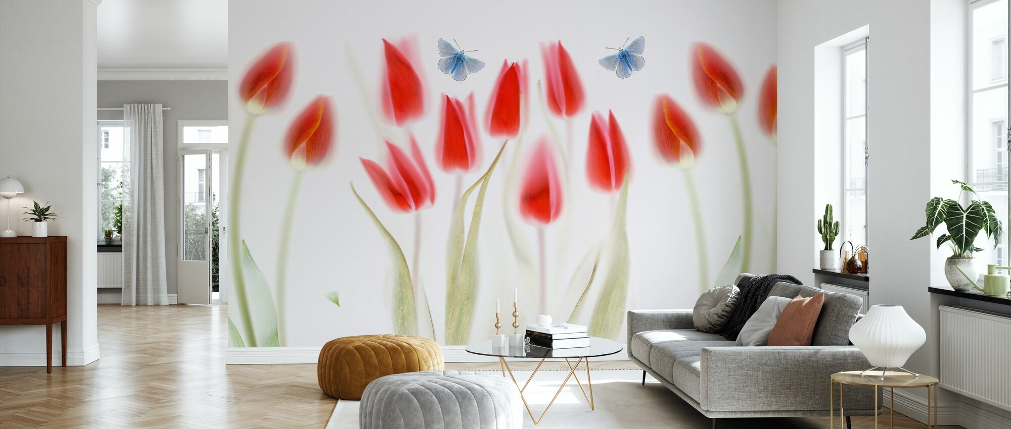Triptych - Wallpaper - Living Room