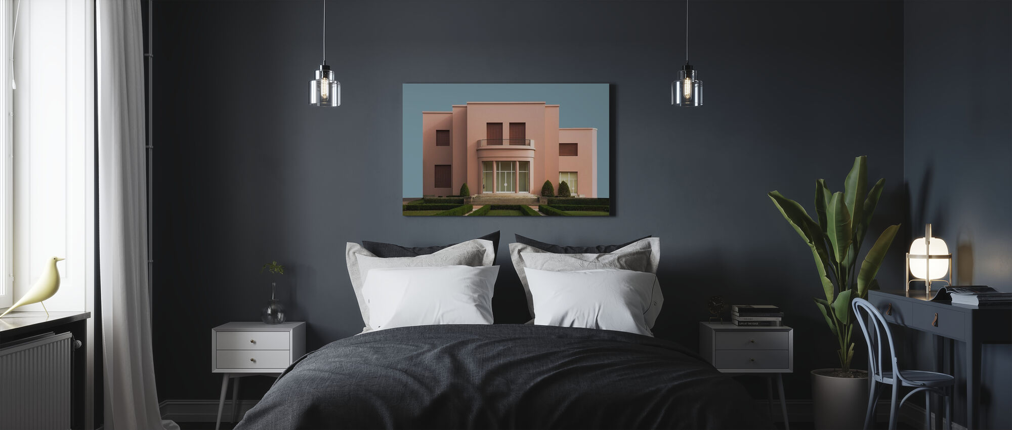 Pink Portugal - Canvas print - Bedroom