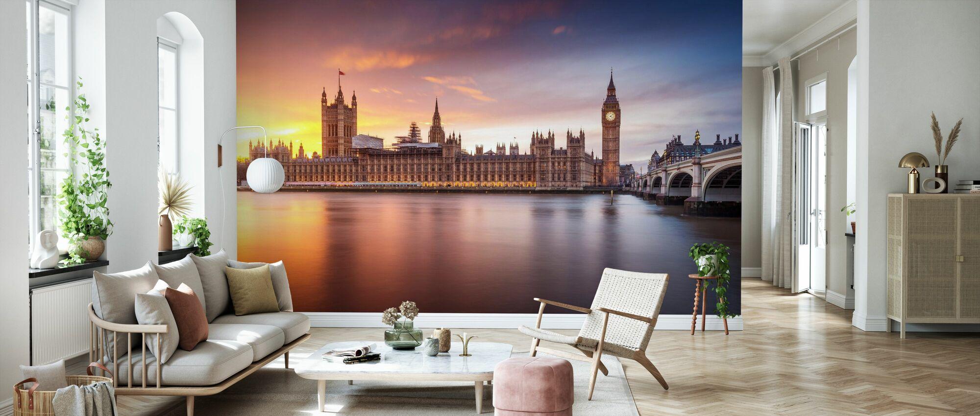 Westminster Sunset - Tapet - Stue