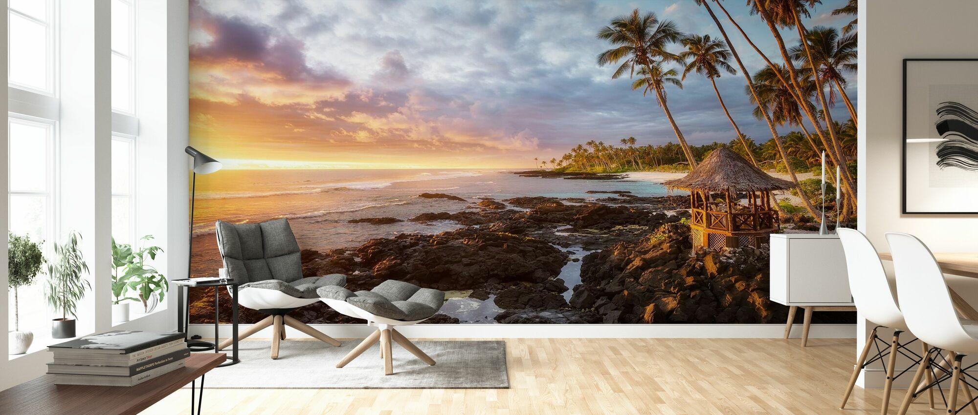 Return to Paradise - Wallpaper - Living Room