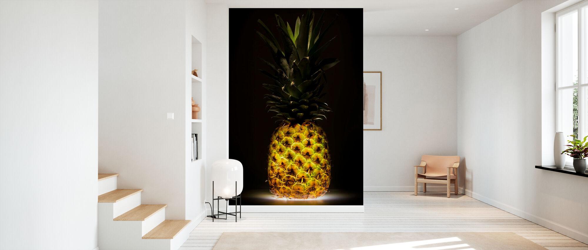 Ananas - Tapete - Flur