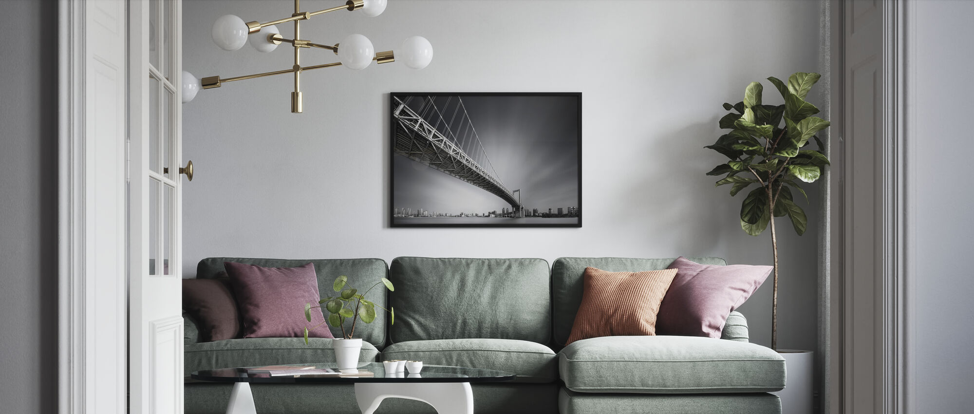 Sumida River - Poster - Living Room