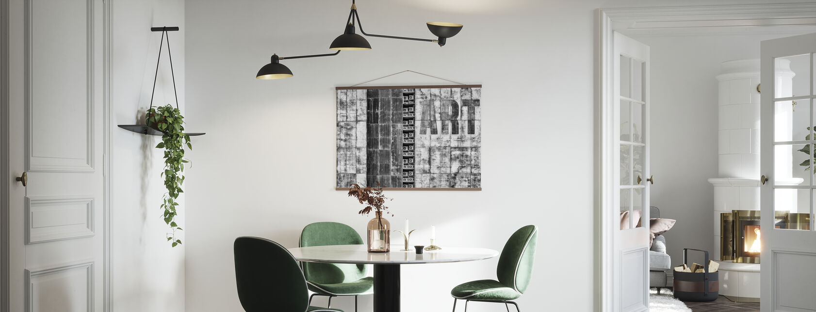 Gritty Palace - Poster - Kitchen