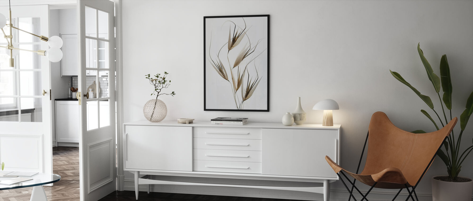 Delicacy of Nature - Framed print - Living Room