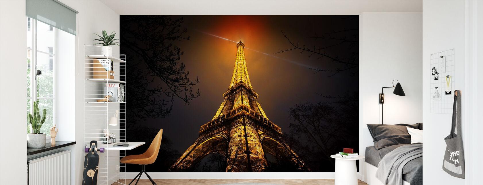 La Tour Eiffel - Tapet - Barnerom