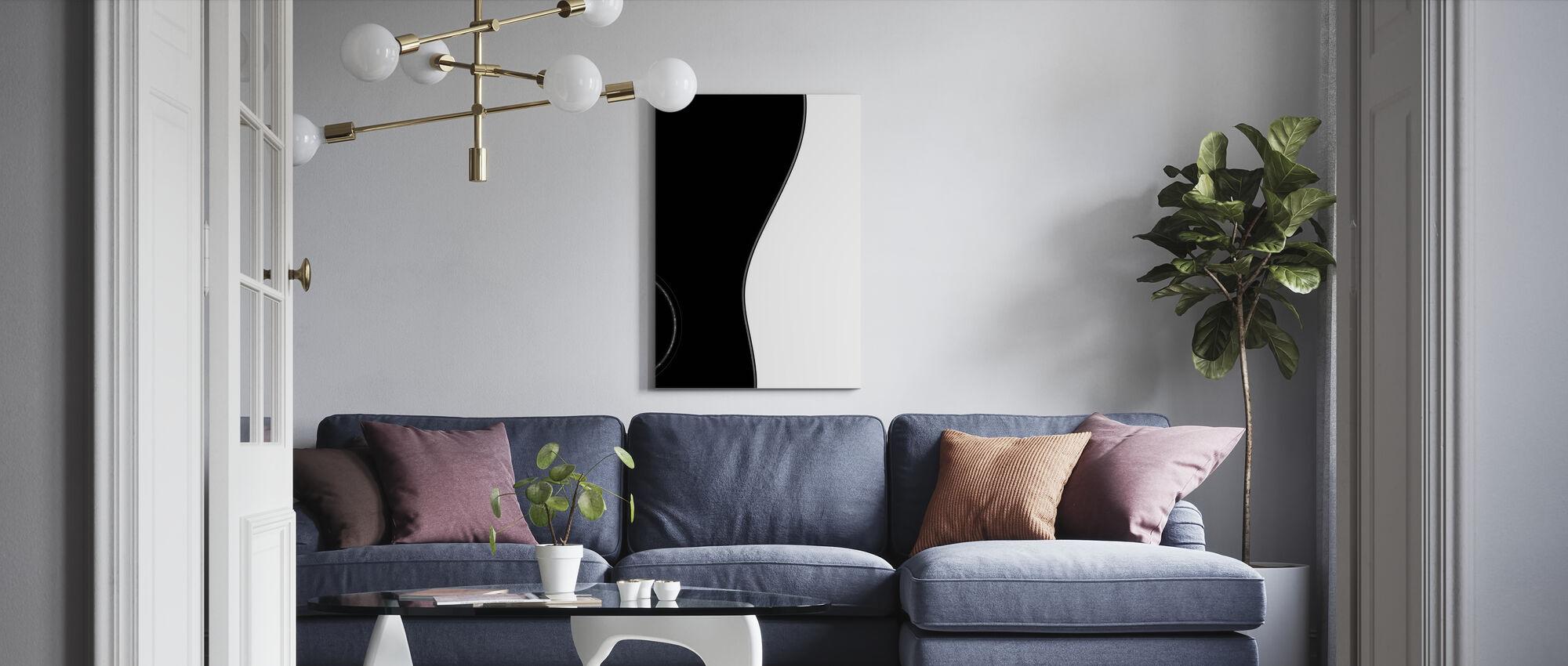 Guitar - Canvas print - Living Room