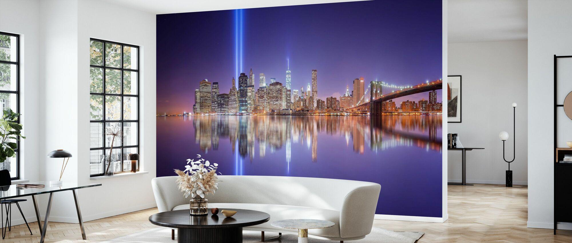 In Memorial - Wallpaper - Living Room