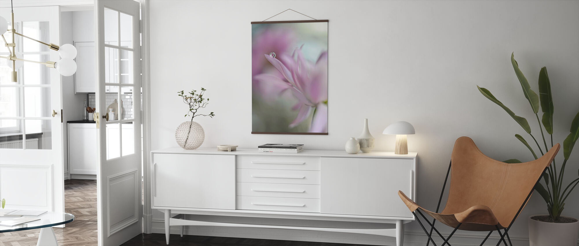 In Pink Delight - Poster - Living Room
