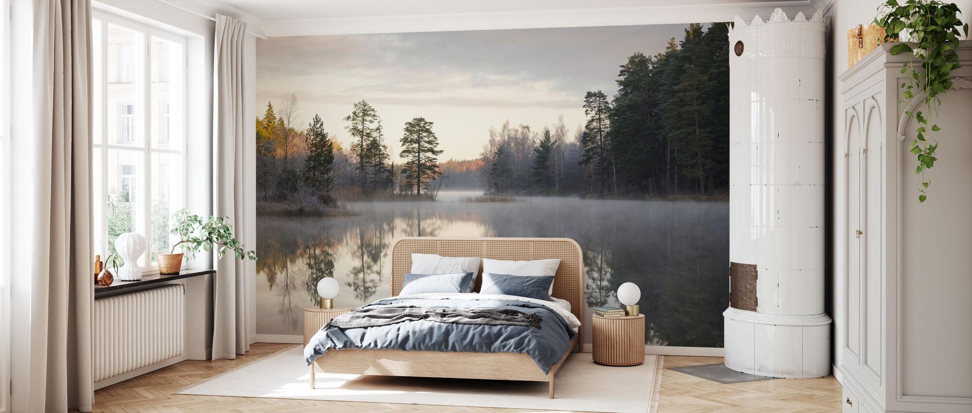 Foggy Morning - Wallpaper - Bedroom