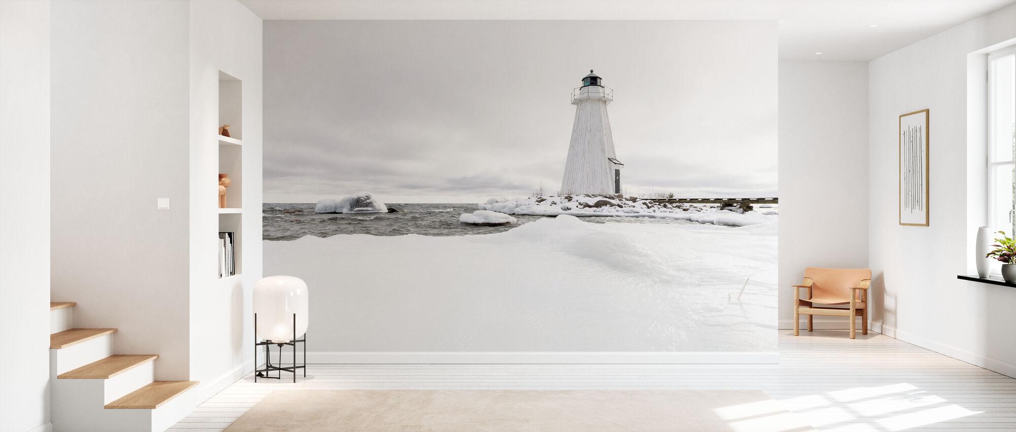 Lighthouse in Winter - Wallpaper - Hallway