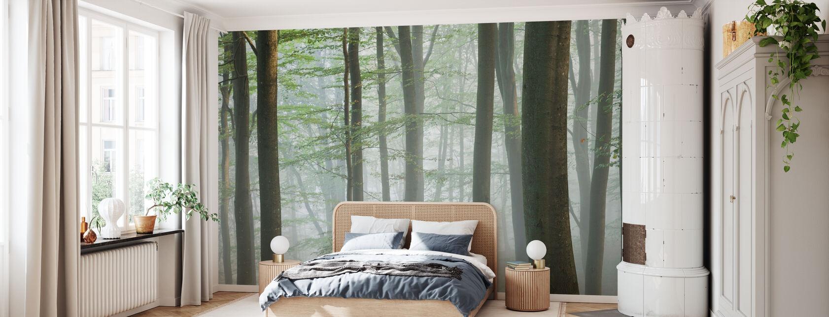 Misty bøgeskov - Tapet - Soveværelse