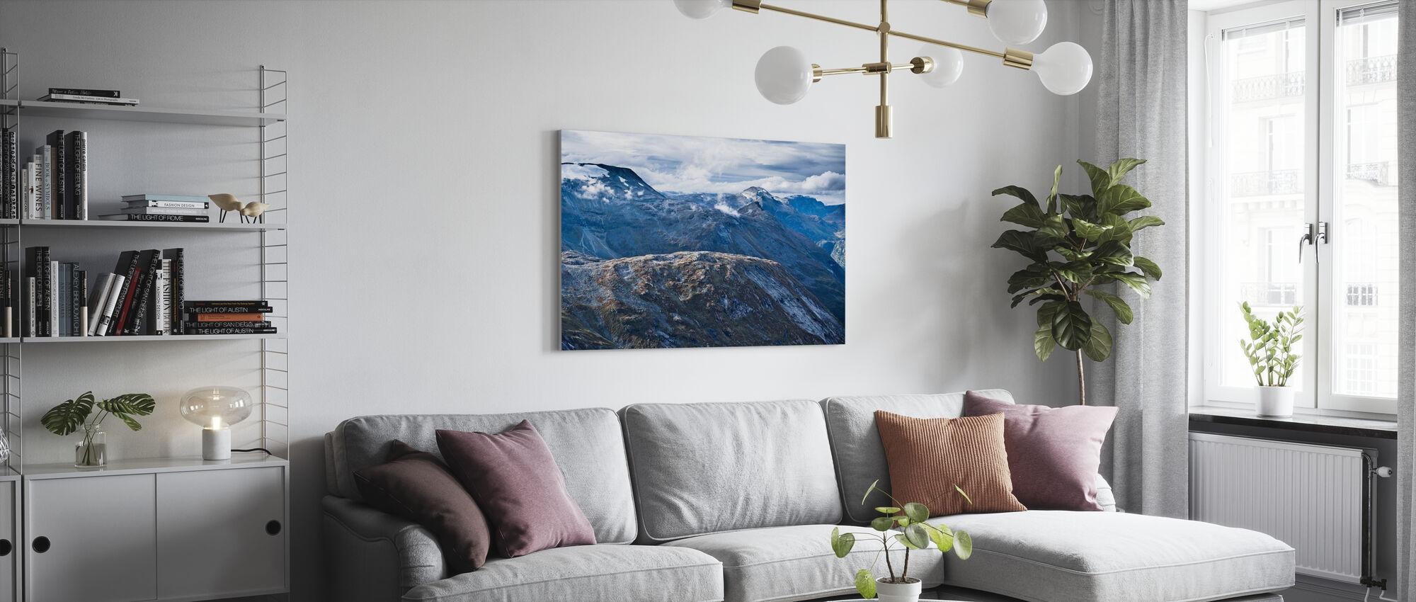 Norsk Fjelllandskap - Lerretsbilde - Stue