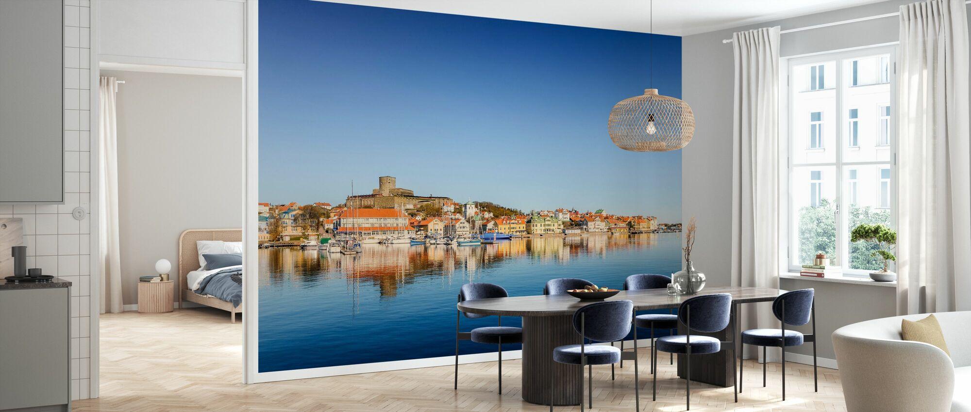 Tyst utsikt över den svenska västkusten - Tapet - Kök
