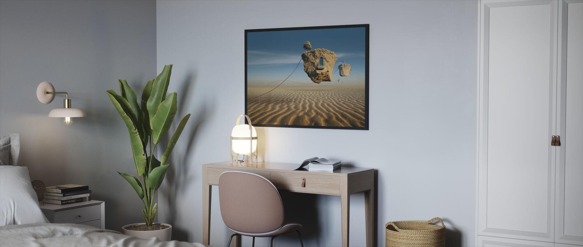 Schweben - Poster - Schlafzimmer
