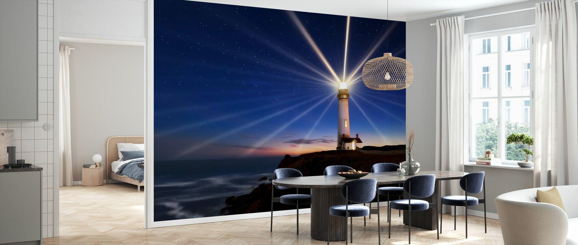Lighting of the Lens - Wallpaper - Kitchen