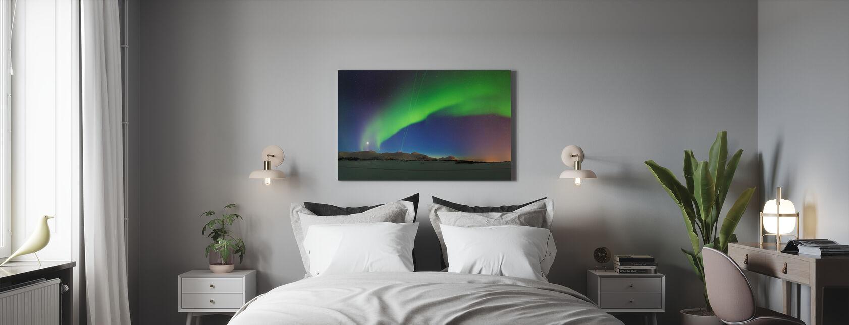 Noorderlicht - Canvas print - Slaapkamer