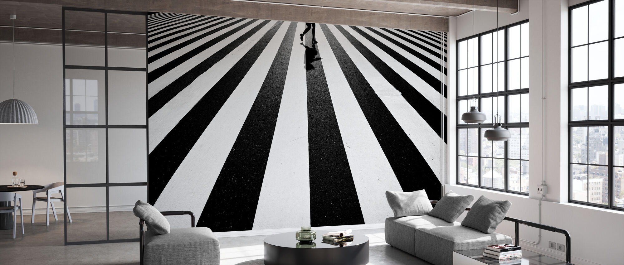 Black and White - Wallpaper - Office