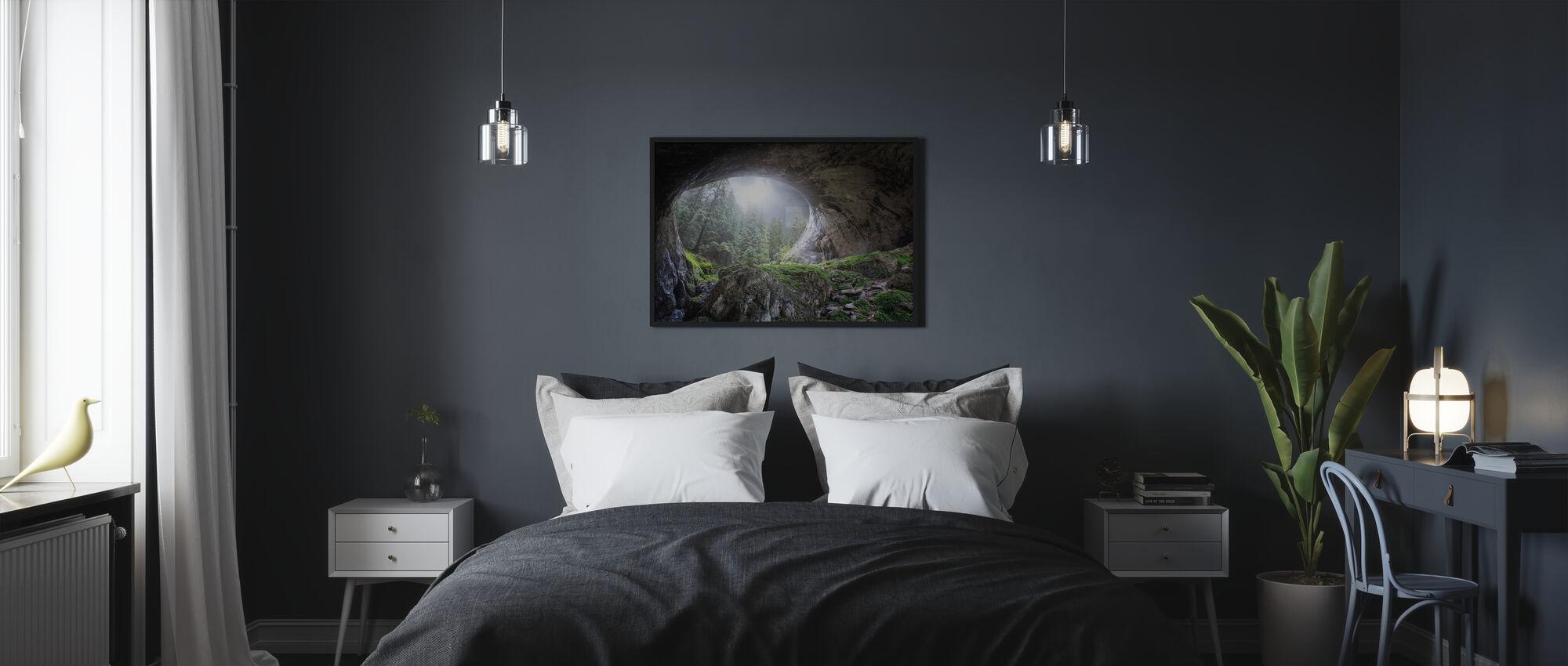 Peek to Heaven - Framed print - Bedroom