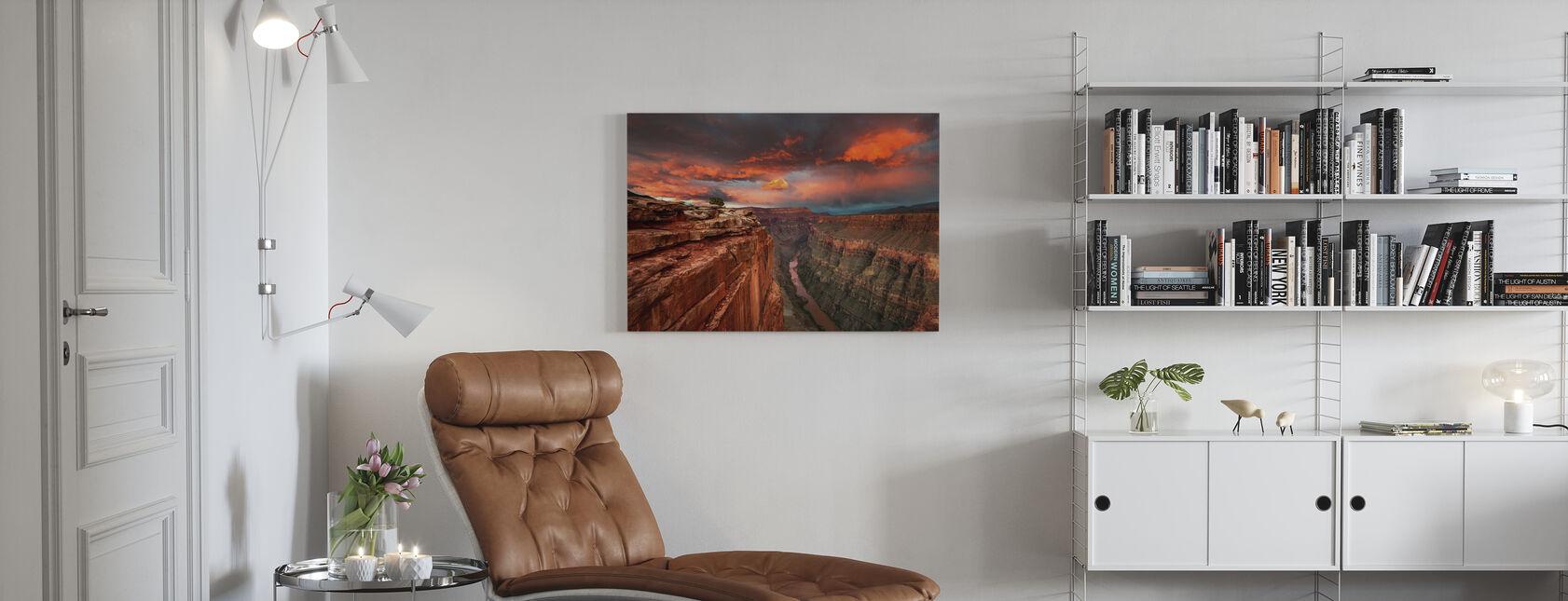 Redemption - Canvas print - Living Room