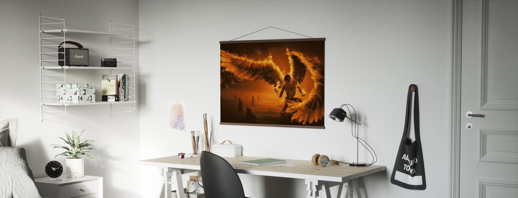 Fiery - Poster - Office