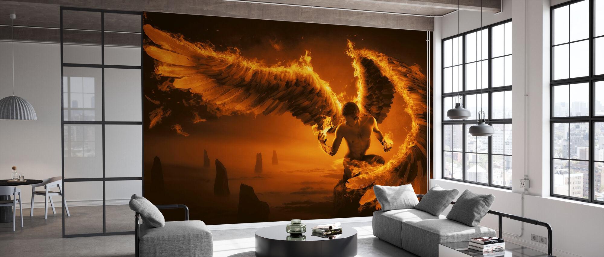 Fiery - Wallpaper - Office